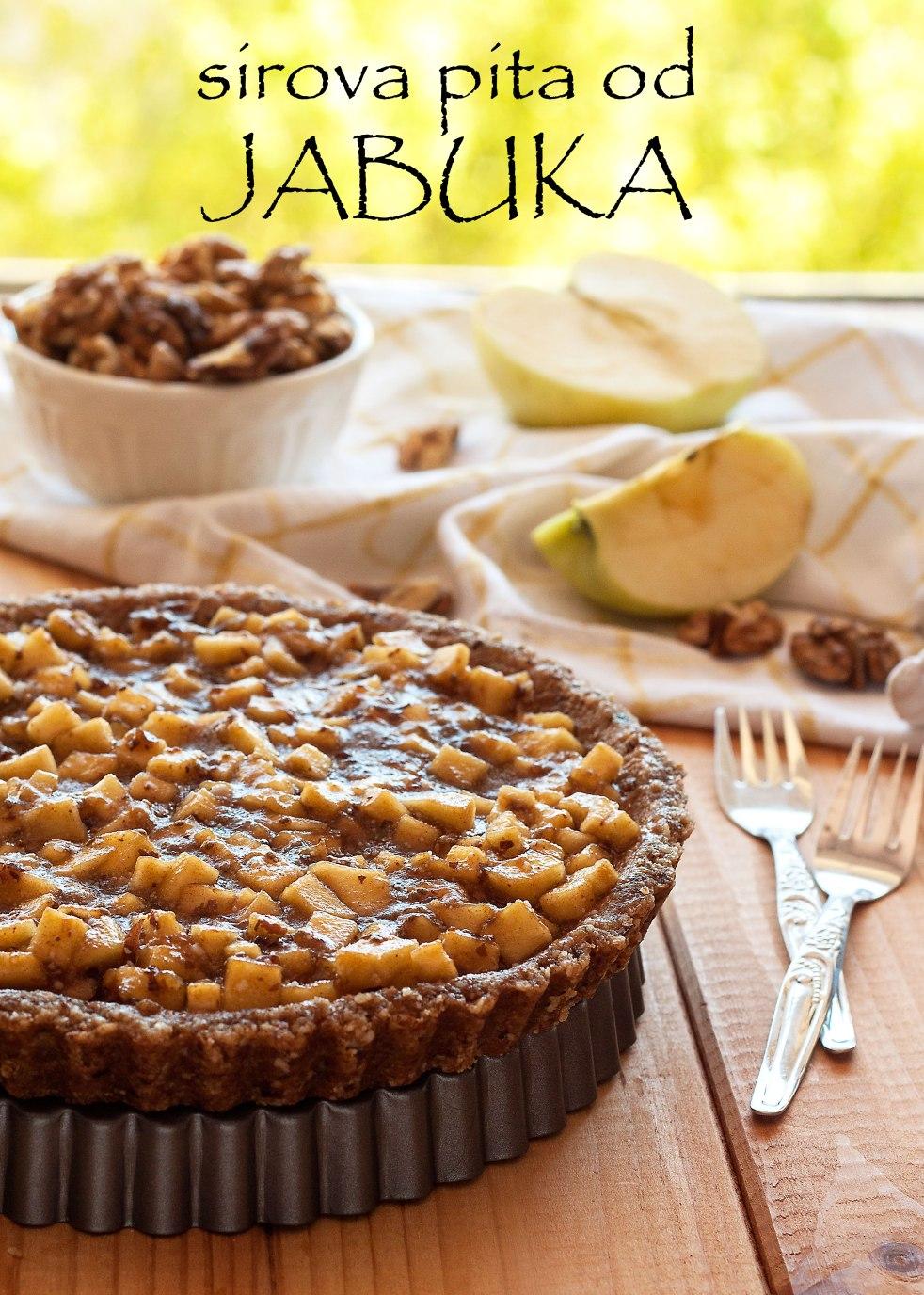 sirova pita od jabuke