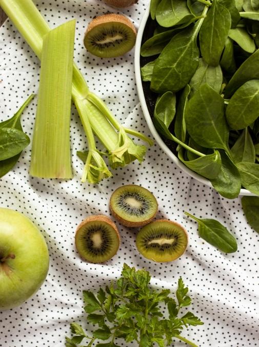 Osvježavajući zeleni smoothie