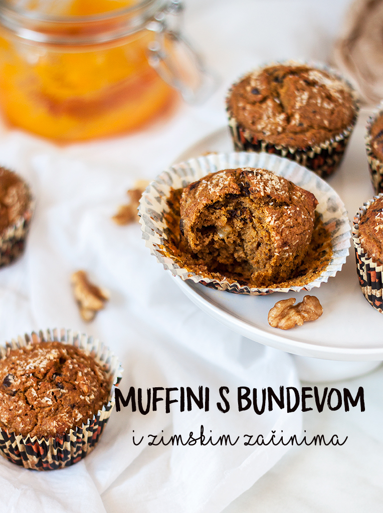 Muffini s bundevom