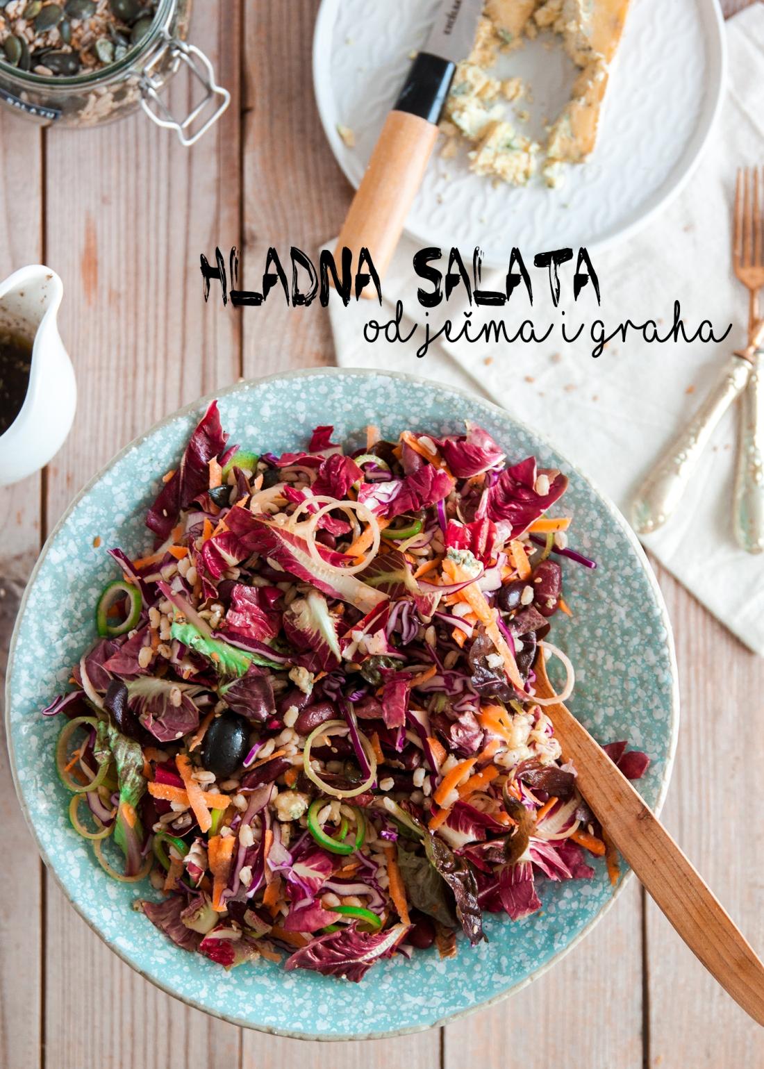 Hladna salata od ječma i graha